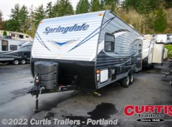 New 2017  Keystone Springdale West 201rdwe by Keystone from Curtis Trailers in Portland, OR