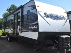 New 2017  Keystone Springdale 38FL by Keystone from Diamond RV Centre, Inc. in West Hatfield, MA