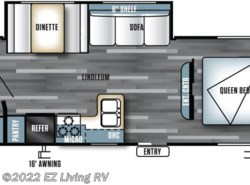 New 2016  Forest River Salem Cruise Lite 272RBXL by Forest River from EZ Living RV in Braidwood, IL