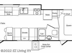 Used 2007  Keystone Passport Ultra Lite 285RL by Keystone from EZ Living RV in Braidwood, IL