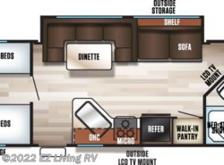 New 2017  Forest River Cherokee Grey Wolf 29TE by Forest River from EZ Living RV in Braidwood, IL