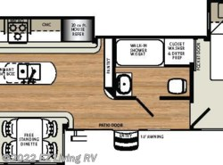 New 2017  Forest River Sandpiper 393RL by Forest River from EZ Living RV in Braidwood, IL