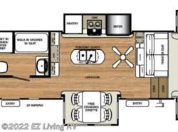 New 2017  Forest River Sandpiper 379FLOK by Forest River from EZ Living RV in Braidwood, IL