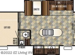 New 2017  Forest River Vengeance 348A13 by Forest River from EZ Living RV in Braidwood, IL