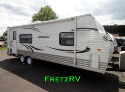 Used 2012  Gulf Stream Conquest Lite Travel Trailer 24RKL by Gulf Stream from Fretz  RV in Souderton, PA