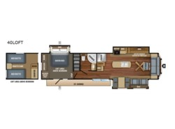 New 2019 Jayco Jay Flight Bungalow 40LOFT available in Souderton, Pennsylvania