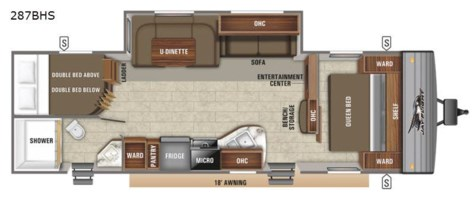 2021 Jayco Jay Flight SLX 8 287BHS