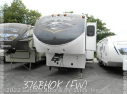 Used 2014  Forest River Sandpiper 376BHOK by Forest River from Gansen Auto & RV Sales, Inc. in Riceville, IA