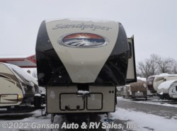 New 2017  Forest River Sandpiper 365SAQB by Forest River from Gansen Auto & RV Sales, Inc. in Riceville, IA