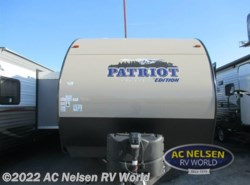 New 2016  Forest River  Patriot Edition 274DBH by Forest River from AC Nelsen RV World in Omaha, NE