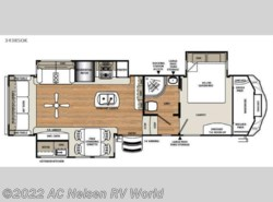 New 2017  Forest River Sandpiper 343RSOK by Forest River from AC Nelsen RV World in Omaha, NE