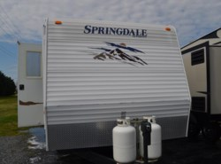 Used 2008  Keystone Springdale 266 RELL-GL by Keystone from Delmarva RV Center in Milford, DE
