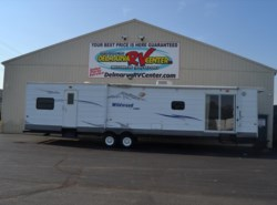 Used 2008  Forest River Wildwood XL/Lodge 392FLFB by Forest River from Delmarva RV Center in Milford, DE