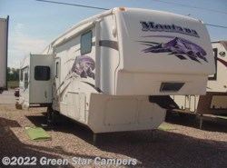 Used 2008  Keystone Montana 3465SA Rear Living Room by Keystone from Green Star Campers in Rapid City, SD