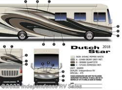 New 2018 Newmar Dutch Star 4018, Wicker Maple, Euro Din., Essex Uprades, Clea available in Winter Garden, Florida