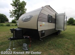 New 2017  Forest River Cherokee Grey Wolf 23DBH by Forest River from Krenek RV Center in Coloma, MI
