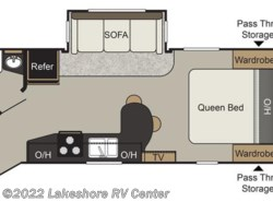 New 2017  Keystone Passport Elite 23RB by Keystone from Lakeshore RV Center in Muskegon, MI