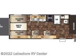 Used 2015  Forest River Grey Wolf 25RR by Forest River from Lakeshore RV Center in Muskegon, MI