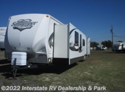 Used 2011  Forest River Sandpiper 403FK by Forest River from Interstate RV Dealership & Park in Mathis, TX