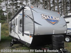 New 2017  Forest River Salem T27DBUD by Forest River from Mekkelsen RV Sales & Rentals in East Montpelier, VT