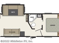Used 2016  Keystone Springdale 262RK by Keystone from Middleton RV, Inc. in Festus, MO