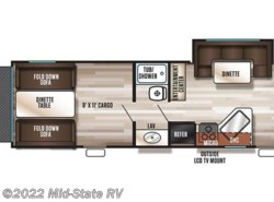 New 2017  Forest River Grey Wolf Cherokee Grey Wolf 27RR by Forest River from Mid-State RV Center in Byron, GA