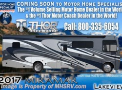 New 2017  Thor Motor Coach Miramar 34.4 W/Ext. Kitchen, King Bed, Theater Seats, FBP by Thor Motor Coach from Motor Home Specialist in Alvarado, TX