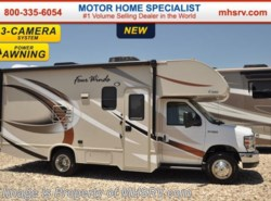 New 2017  Thor Motor Coach Four Winds 22B W/Slide, 15.0K BTU A/C, 3 Cams by Thor Motor Coach from Motor Home Specialist in Alvarado, TX