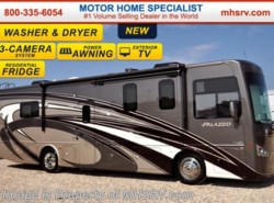 New 2017  Thor Motor Coach Palazzo 33.4 Ext TV, Pwr Loft, Res. Fridge, Stack W/D by Thor Motor Coach from Motor Home Specialist in Alvarado, TX