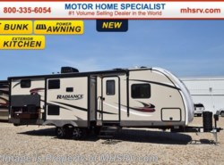 New 2017  Cruiser RV Radiance Touring 28BHIK Bunk Model RV for Sale W/Ext. Kitch by Cruiser RV from Motor Home Specialist in Alvarado, TX