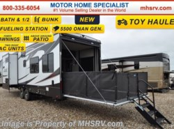 New 2017  Heartland RV Edge 357ED Toy Hauler, Bath & 1/2, Bunk RV for Sale by Heartland RV from Motor Home Specialist in Alvarado, TX