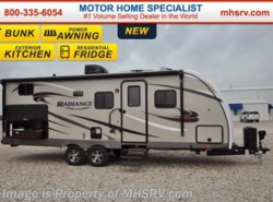 New 2017  Cruiser RV Radiance 24BHDS Touring Edition Bunk Model RV for Sale by Cruiser RV from Motor Home Specialist in Alvarado, TX