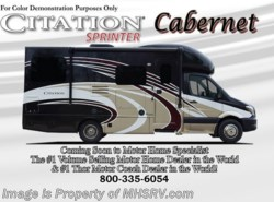 New 2017  Thor Motor Coach Chateau Citation Sprinter 24SR Diesel RV for Sale at MHSRV W/Dsl Gen by Thor Motor Coach from Motor Home Specialist in Alvarado, TX
