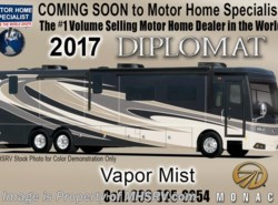 New 2017  Monaco RV Diplomat 43Q Bath & 1/2, Bunk Model Luxury Diesel RV