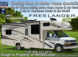 New 2017  Coachmen Freelander  27QBC RV for Sale at MHSRV W/15K A/C, Rear Cam by Coachmen from Motor Home Specialist in Alvarado, TX