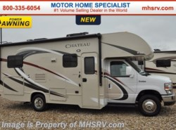 New 2017  Thor Motor Coach Chateau 24C RV for Sale at MHSRV W/Cabover Ent Center by Thor Motor Coach from Motor Home Specialist in Alvarado, TX