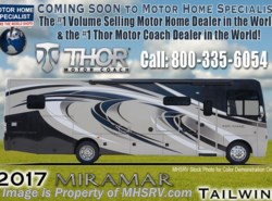 New 2017 Thor Motor Coach Miramar 34.2 RV for Sale W/Ext. Kitchen & King Bed available in Alvarado, Texas