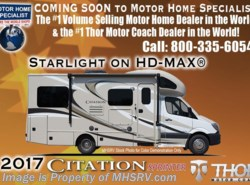 New 2017  Thor Motor Coach Chateau Citation Sprinter Diesel RV 24SS  for Sale W/ Ext. TV, Side Cams by Thor Motor Coach from Motor Home Specialist in Alvarado, TX