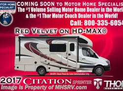 New 2017  Thor Motor Coach Chateau Citation Sprinter Diesel RV 24SS  for Sale W/Dsl Gen & Jacks by Thor Motor Coach from Motor Home Specialist in Alvarado, TX