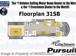 New 2017  Coachmen Pursuit 31SBP RV for Sale at MHSRV W/King, Jacks, Ext. TV by Coachmen from Motor Home Specialist in Alvarado, TX