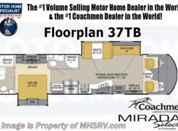 New 2017  Coachmen Mirada Select 37TB 2 Baths Bunk Model W/King Bed RV for Sale by Coachmen from Motor Home Specialist in Alvarado, TX