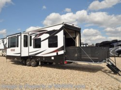 New 2017  Heartland RV Edge 399ED Toy Hauler, Bunk W/2 Baths RV for Sale by Heartland RV from Motor Home Specialist in Alvarado, TX