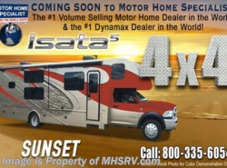 New 2017  Dynamax Corp Isata 5 Series 36DS 4X4 Super C RV for Sale 8KW Dsl Gen & King by Dynamax Corp from Motor Home Specialist in Alvarado, TX