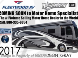 New 2017  Fleetwood Discovery LXE 40X Diesel Pusher RV for Sale W/L-Sofa by Fleetwood from Motor Home Specialist in Alvarado, TX