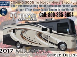 New 2017  Thor Motor Coach Miramar 37.1 Bunk Model, 2 Full Baths RV for Sale W/King by Thor Motor Coach from Motor Home Specialist in Alvarado, TX