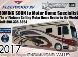 New 2017  Fleetwood Discovery LXE 40X Diesel Pusher RV for Sale W/L-Sofa & Sat by Fleetwood from Motor Home Specialist in Alvarado, TX