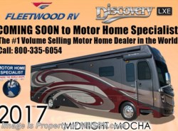 New 2017  Fleetwood Discovery LXE 40X Diesel Pusher RV for Sale W/Sat & L-Sofa by Fleetwood from Motor Home Specialist in Alvarado, TX