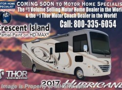 New 2017  Thor Motor Coach Hurricane 34F RV for Sale at MHSRV W/King & Exterior TV by Thor Motor Coach from Motor Home Specialist in Alvarado, TX