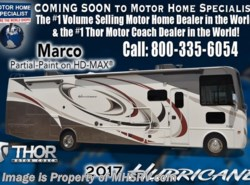 New 2017  Thor Motor Coach Hurricane 29M RV for Sale @ MHSRV King Bed, 2 A/C, 5.5 Gen by Thor Motor Coach from Motor Home Specialist in Alvarado, TX