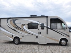 New 2017  Thor Motor Coach Axis 25.3 RUV for Sale at MHSRV.com W/Ext TV & 15K A/C by Thor Motor Coach from Motor Home Specialist in Alvarado, TX